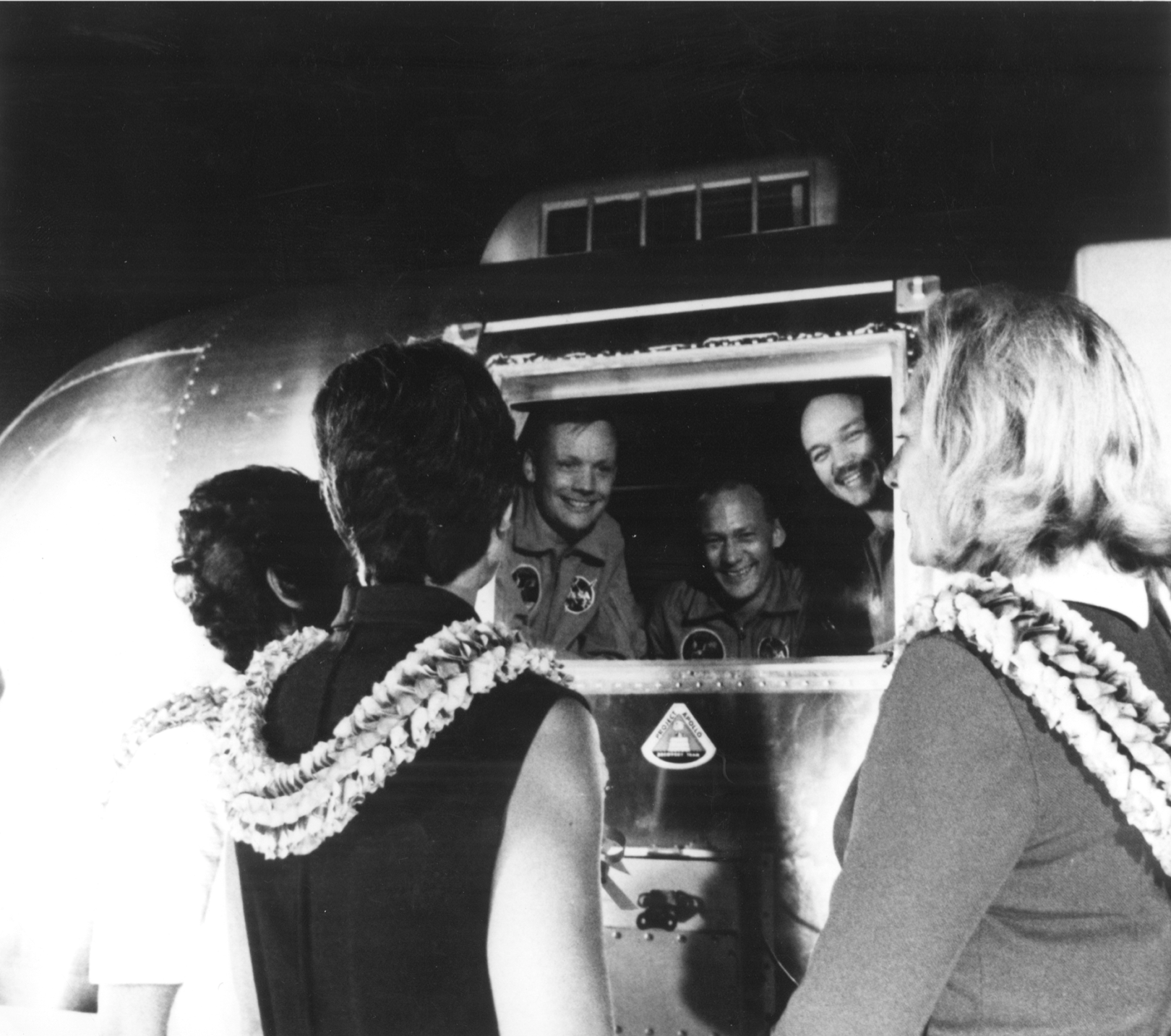 Apollo 11 astronauts in Quarantine